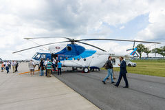 Transport helicopter Mil Mi-8MSB. Royalty Free Stock Image