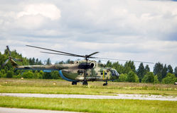 Transport helicopters Royalty Free Stock Photography