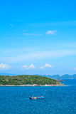 Transport i den Koh Si Chang ön Arkivfoto