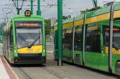 Transport i staden royaltyfria bilder