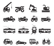 16 Transport Icon. Is available for your designs Stock Photos