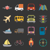 Transport icon Stock Image
