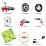 Transport Icons 1 Stock Photo