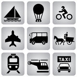 Transport_icons Royalty Free Stock Images