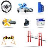 Transport Icons 4 Stock Photo