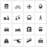 Transport Icons. Transport vector icons. File format is EPS8 Royalty Free Stock Photo