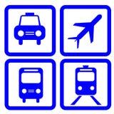 Transport ikona Obrazy Royalty Free