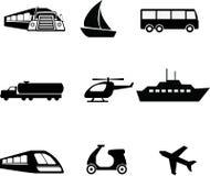 Transport ikona Obrazy Stock