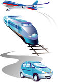 Transport illustration Royalty Free Stock Photography
