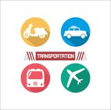 Transport Illustration Royalty Free Stock Photo