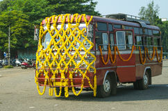 Transport of India the bus royalty free stock images