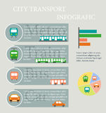Transport infographic. Royalty Free Stock Photo