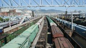 The transport infrastructure of Novorossiysk Stock Photography