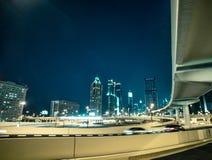 Transport interchange in Dubai Royalty Free Stock Image