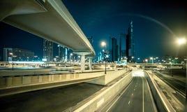 Transport interchange in Dubai Royalty Free Stock Images