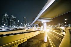 Transport interchange in Dubai Stock Image