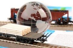 transport intrenational lokomotywy transport Fotografia Stock