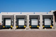 transport loading docks Stock Images
