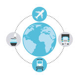 Transport logistics Stock Photography