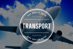 Transport Logistics System Vehicle Freight Transportation Concep Stock Images