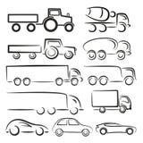 Transport Logos. Stock Photos
