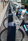 Transport for london bicycle scheme Stock Photo