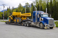 Transport lourd photo libre de droits