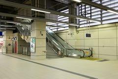 Transport masowy stacja kolejowa Obrazy Royalty Free
