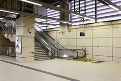 Transport masowy stacja kolejowa Zdjęcie Stock