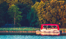 Transport motor boat Royalty Free Stock Photo