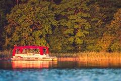 Transport motor boat Royalty Free Stock Photography