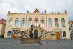 Transport Museum in Dresden Stock Photos