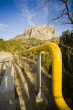 Transport par la pipe images stock
