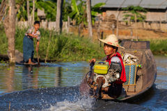 Transport par voie navigable Photographie stock libre de droits