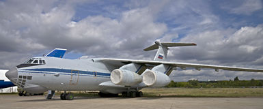 Transport plane IL-76MD Royalty Free Stock Photography