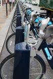 Transport pour le plan de bicyclette de Londres Photo stock