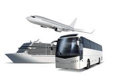 Transport pour le voyage Photo libre de droits