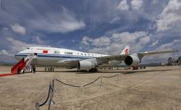 Transport présidentiel de Boeing de Chinois Image libre de droits