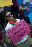 5 Transport Pride March in Istanbul Stockfotografie