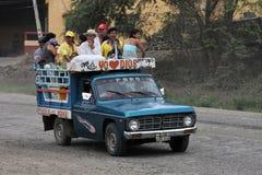 Transport public d'Ecuadorian photographie stock