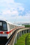 Transport public de souterrain Photos libres de droits