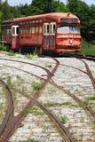 Transport public interurbain ferroviaire. Photo stock