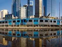 Transport publiczny w Melbourne Australia fotografia royalty free