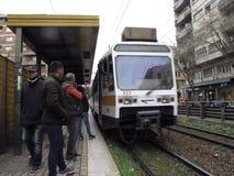 Transport publiczny w Rzym, Włochy zdjęcie royalty free