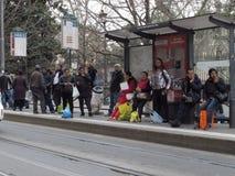 Transport publiczny w Rzym, Włochy obraz stock