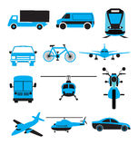 transport réglé de graphisme Images stock