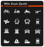 transport réglé de graphisme Photo libre de droits