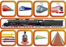 Transport railways Royalty Free Stock Photography