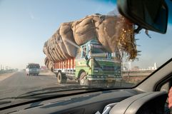 Transport in Rajasthan, India stock photography