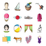 Transport, recreation, animal and other web icon in cartoon style.Medicine, beauty, fashion icons in set collection. Stock Photography